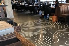 Topographic Floor Graphics